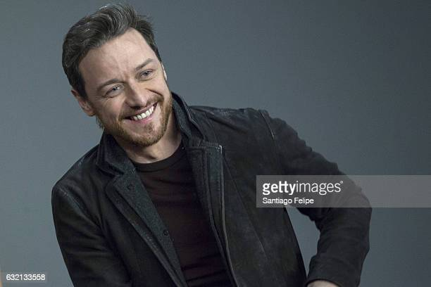 James McAvoy attends Meet the Actor at Apple Store Soho on January 19 2017 in New York City