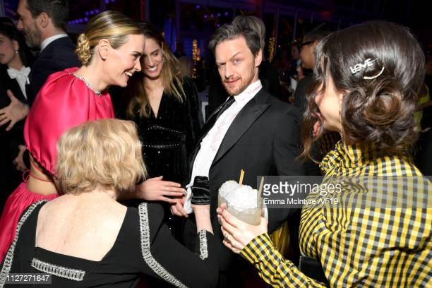 James McAvoy attends the 2019 Vanity Fair Oscar Party hosted by Radhika Jones at Wallis Annenberg Center for the Performing Arts on February 24 2019...