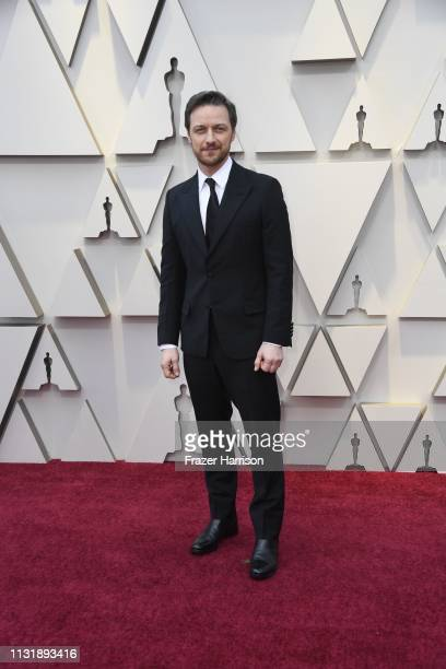 James McAvoy attends the 91st Annual Academy Awards at Hollywood and Highland on February 24 2019 in Hollywood California