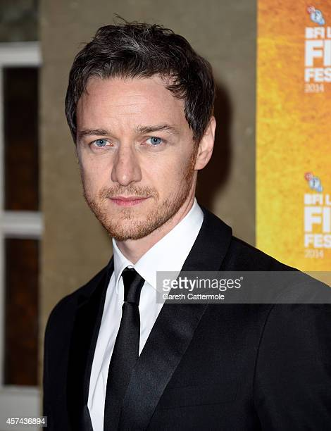 James McAvoy attends the BFI London Film Festival Awards during the 58th BFI London Film Festival on October 18 2014 in London England