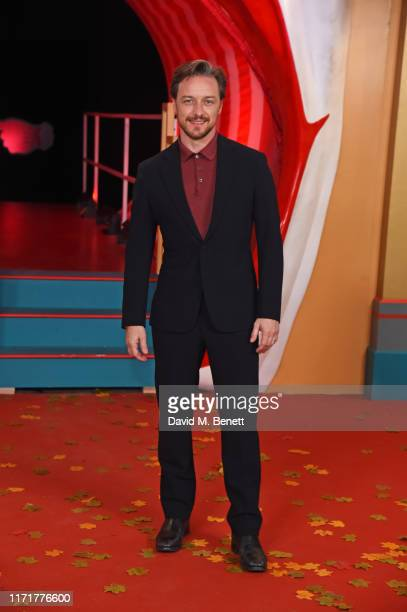 James McAvoy attends the European Premiere of IT Chapter Two at The Vaults Waterloo on September 02 2019 in London England