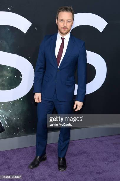 James McAvoy attends the Glass New York Premiere at SVA Theater on January 15 2019 in New York City
