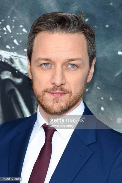 """James McAvoy attends the """"Glass"""" New York Premiere at SVA Theater on January 15, 2019 in New York City."""