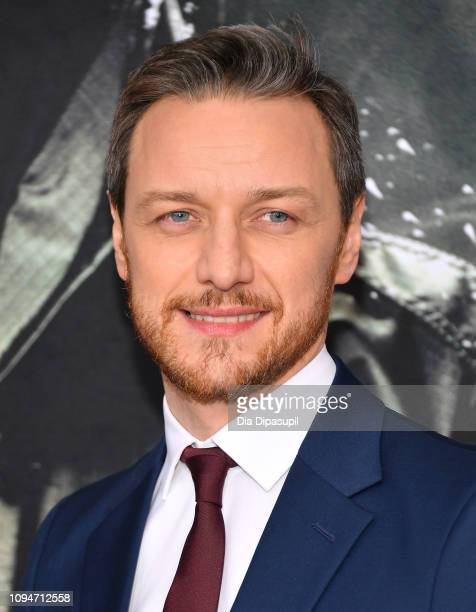 """James McAvoy attends the """"Glass"""" NY Premiere at SVA Theater on January 15, 2019 in New York City."""