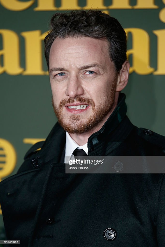 James McAvoy attends The London Evening Standard Theatre Awards at The Old Vic Theatre on November 13, 2016 in London, England.