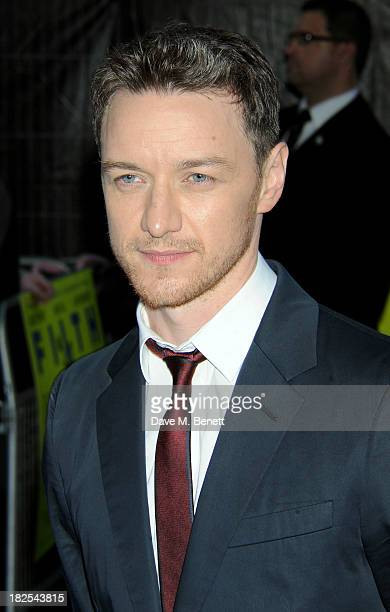 James McAvoy attends the London Premiere of 'Filth' at the Odeon West End on September 30 2013 in London England