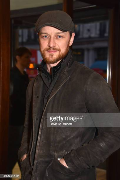 James McAvoy attends the press matinee after party for Brief Encounter at The Haymarket Hotel on March 11 2018 in London England