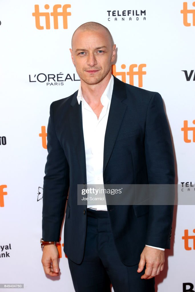 James McAvoy attends the 'Submergence' premiere during the 2017 Toronto International Film Festival at The Elgin on September 10, 2017 in Toronto, Canada.