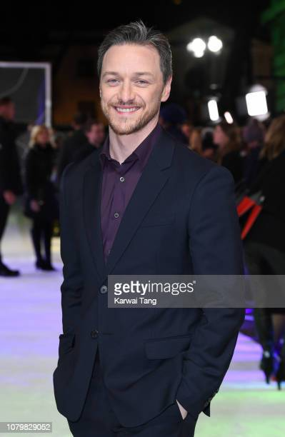 James McAvoy attends the UK Premiere of Glass at The Curzon Mayfair on January 9 2019 in London England