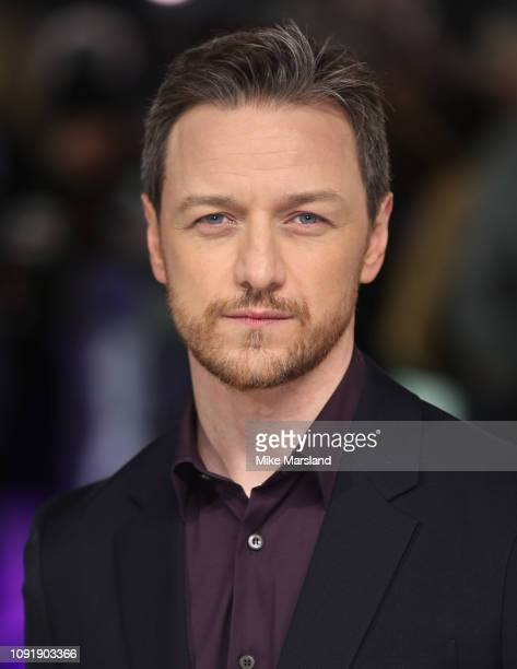 James McAvoy attends the UK Premiere of Glass at The Curzon Mayfair on January 09 2019 in London England