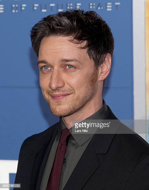 """James McAvoy attends the """"X-Men: Days of Future Past"""" global premiere at Jacob K. Javits Convention Center in New York City. © LAN"""