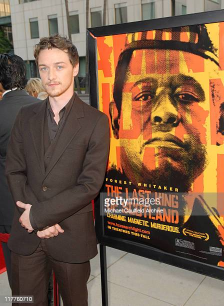 James McAvoy during Fox Searchlight Pictures Presents the Los Angeles Premiere of The Last King of Scotland at Academy of Motion Picture Arts...