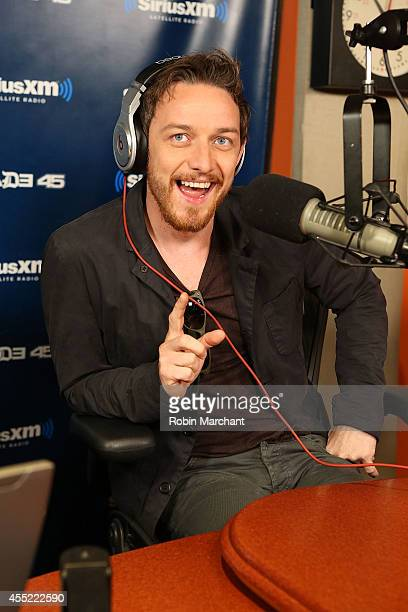 James McAvoy visits 'Sway in the Morning' at SiriusXM Studios on September 10 2014 in New York City