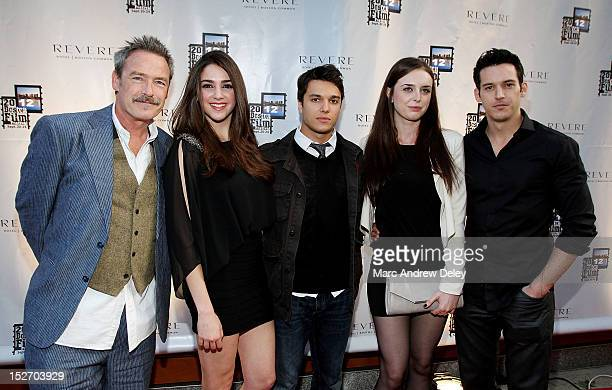 James McCaffery Katherine Narducci Chris Riggi Chelsea Amoroso and John Faughnan attend the screening of 'To Redemption' during the 28th Annual...