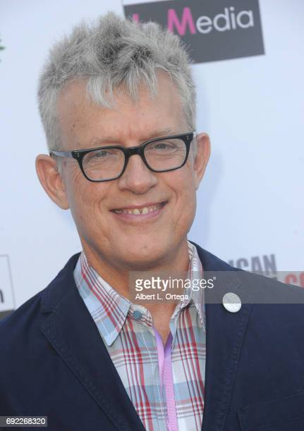 James McCarthy arrives for Etheria Film Night held at The Egyptian Theatre on June 3 2017 in Los Angeles California