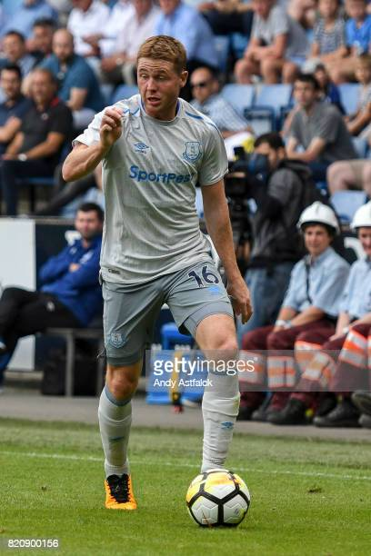 James McCarthy from Everton during the PreSeason Friendly between KRC Genk and Everton at Cristal Arena on July 22 2017 in Genk Belgium