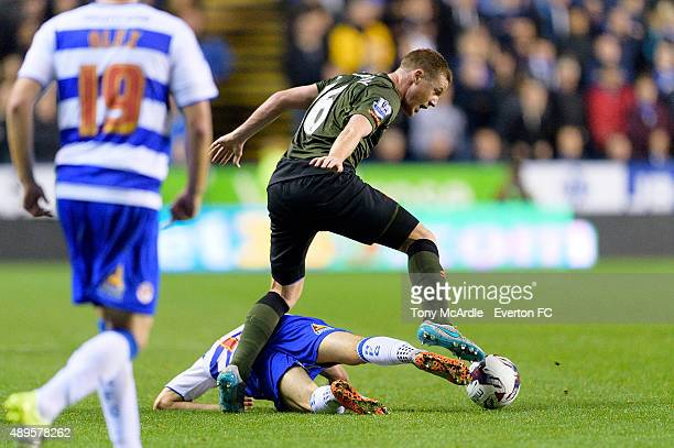 James McCarthy of Everton during the Capital One Cup match between Reading and Everton at Madejski Stadium on September 22, 2015 in Reading, England.