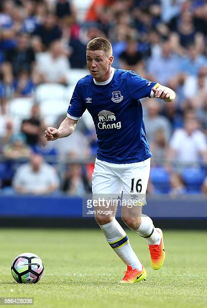 James McCarthy of Everton in action during the preseason friendly match between Everton and Espanyol at Goodison Park on August 6 2016 in Liverpool...