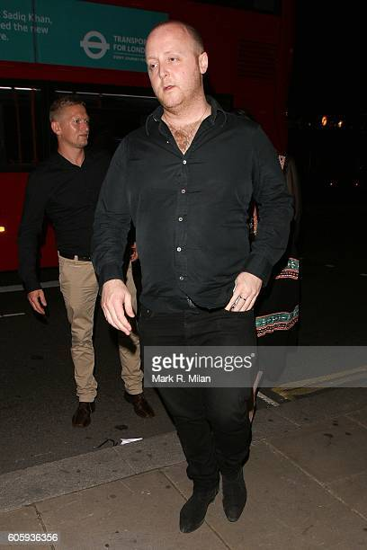 James McCartney attending The Beatles Eight Days A Week premiere after party on September 15 2016 in London England