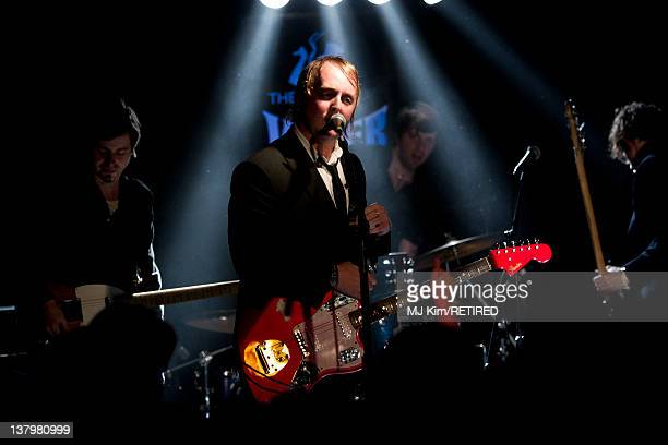 James McCartney performs at Viper Room on January 27 2012 in West Hollywood California