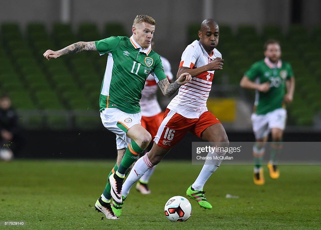 Republic of Ireland v Switzerland - International Friendly : News Photo