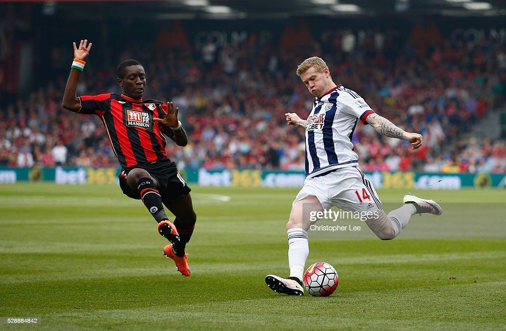 A.F.C. Bournemouth v West Bromwich Albion - Premier League : News Photo