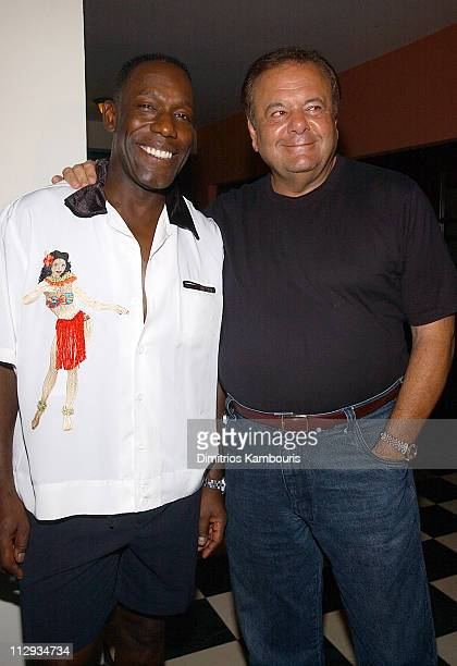 James McDaniel and Paul Sorvino during Beaches Resorts Celebrity Golf Classic to Benefit St. Jude Children's Research Hospital - After-Party at Royal...