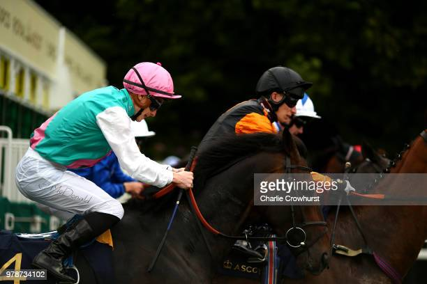 James McDonald exits the stalls on Mirage Dancer to start The Wolferton Stakes on day 1 of Royal Ascot at Ascot Racecourse on June 19 2018 in Ascot...