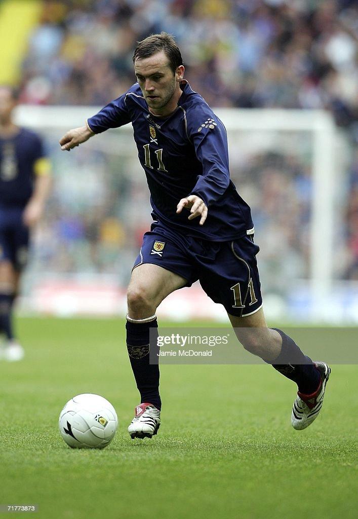 Euro2008 Qualifier: Scotland v Faroe Islands : News Photo
