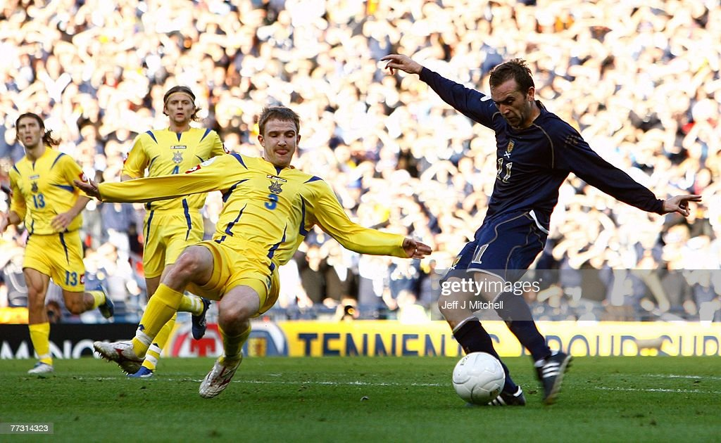 Euro2008 Qualifier - Scotland v Ukraine : News Photo