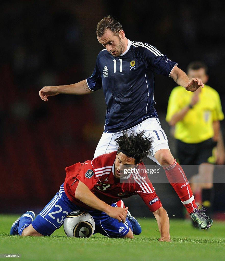 Scotland v Liechtenstein - EURO 2012 Qualifier