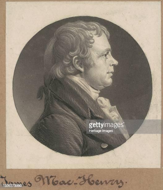 James McHenry, 1803. Artist Charles Balthazar Julien Févret de Saint-Mémin.