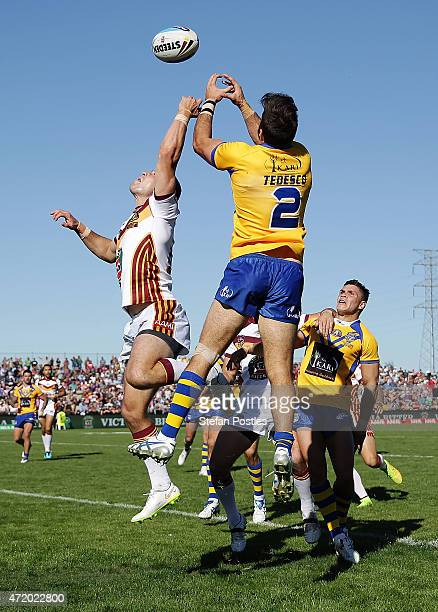 James McManus of Country in action during the City v Country Origin match at McDonalds Park on May 3 2015 in Wagga Wagga Australia