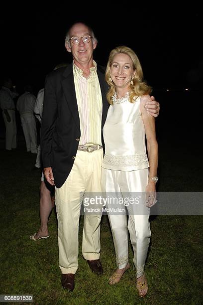 James Mcnaughton and Sacha Mcnaughton attend ULLA KEVIN PARKER Host White End Of Summer Party at on August 31 2007