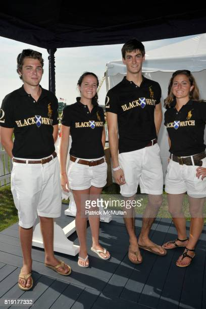 James McPortland Julia Smith Craig Juergens and Andrea Ridberg attend MercedesBenz Polo Challenge Opening Weekend at Blue Star Jets Field at Two...
