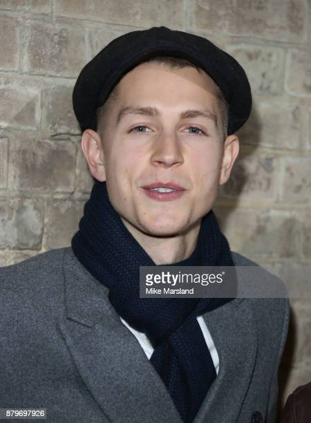 James McVey attends the BAFTA Children's awards at The Roundhouse on November 26 2017 in London England