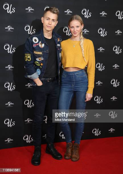 James McVey attends the screening of 'Us' at Picturehouse Central on March 14, 2019 in London, England.