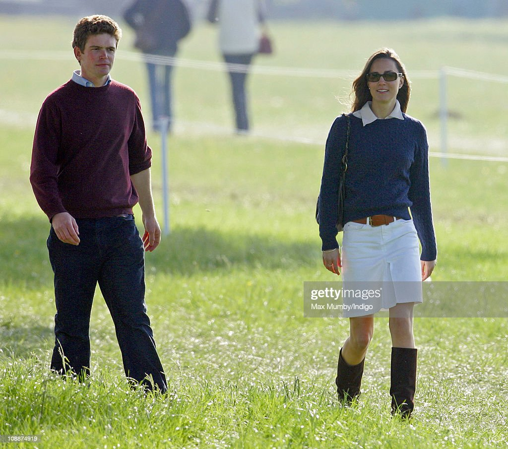 Kate Middleton Attends The Badminton Horse Trials : News Photo
