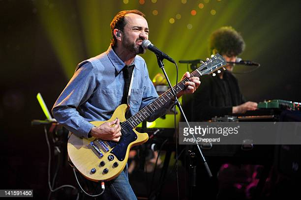 James Mercer and Richard Swift of The Shins perform on stage for KLRUTV Austin City Limits Live at The Moody Theatre on March 18 2012 in Austin Texas