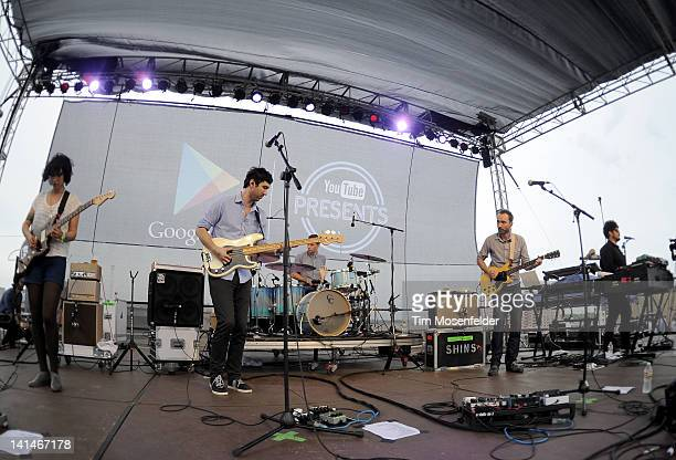 James Mercer and the Shins perform at Live from the Lot by Google Play YouTube at 2012 SXSW Music Film Interactive Festival Day 8 on March 16 2012 in...