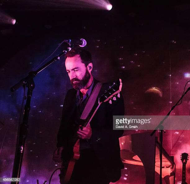 James Mercer of Broken Bells performs at Iron City on October 2 2014 in Birmingham Alabama