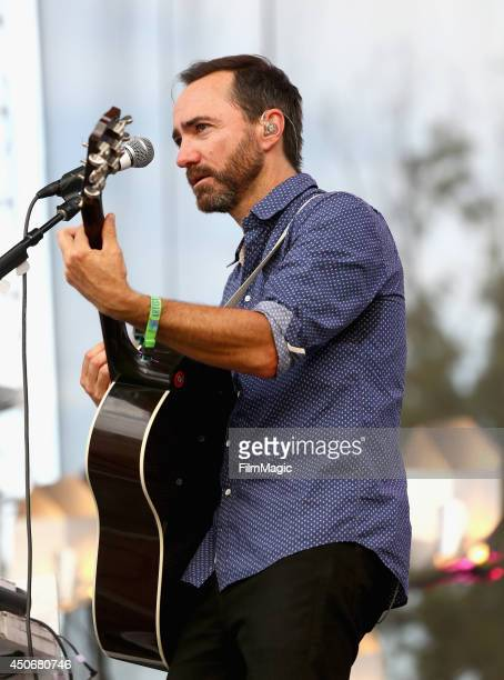 James Mercer of Broken Bells performs at Which Stage during day 4 of the 2014 Bonnaroo Arts And Music Festival on June 15 2014 in Manchester Tennessee