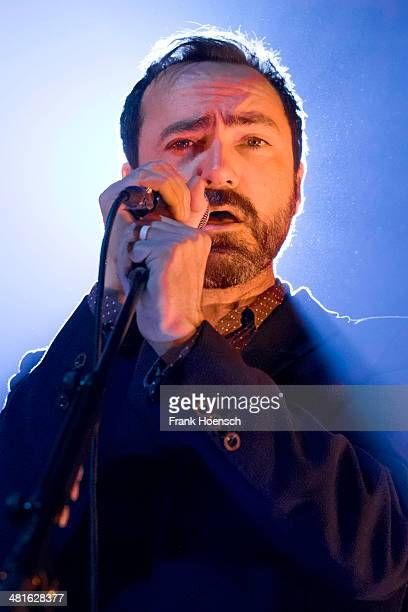 James Mercer of Broken Bells performs live during a concert at the Huxleys on March 30 2014 in Berlin Germany
