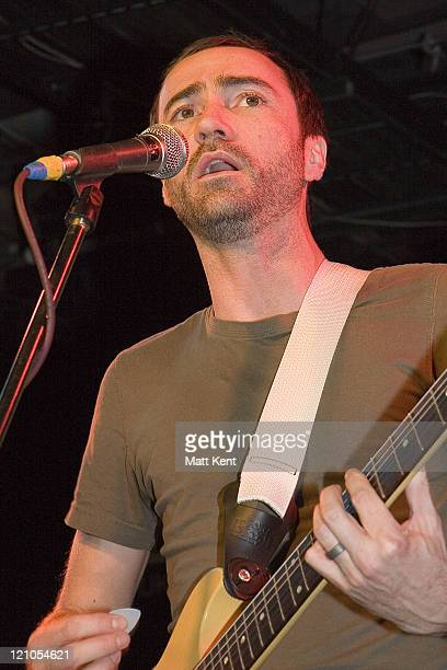 James Mercer of The Shins during The Shins Instore Performance and Signing at Virgin February 1 2007 at Virgin Megastore in London Great Britain
