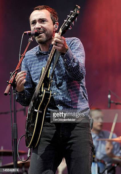 James Mercer of The Shins performs as part of Day 2 of the Sasquatch Music Festival at the Gorge Amphitheatre on May 26 2012 in George Washington