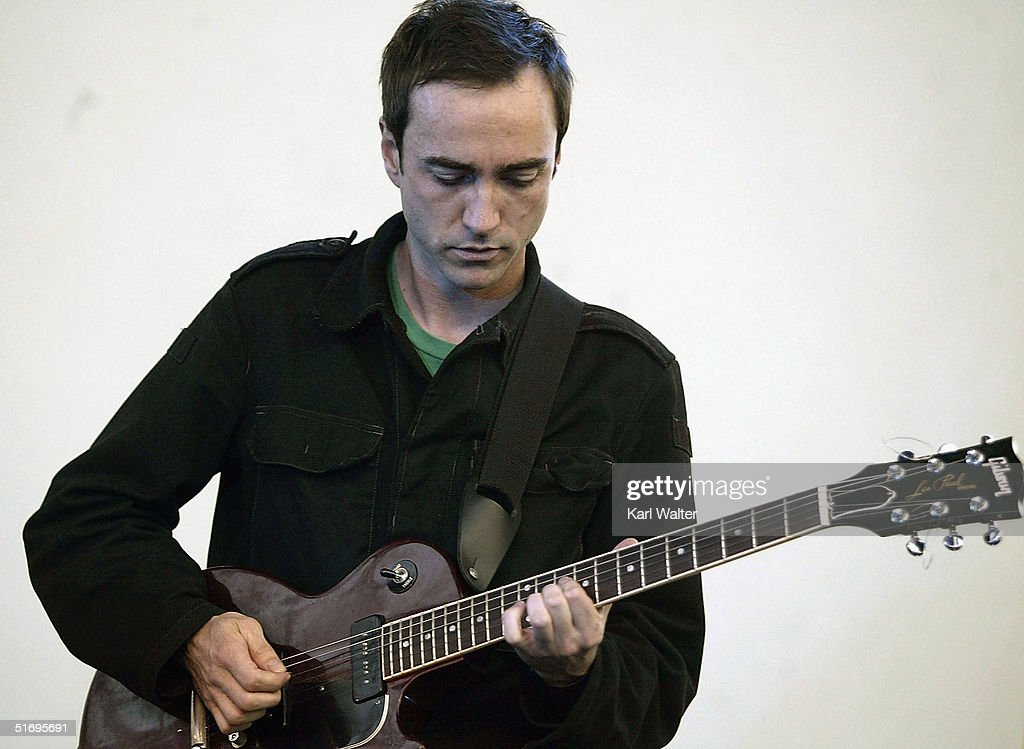 James Mercer of the Shins performs at All Tomorrow's Parties at the Queen Mary on November 7, 2004 Los Angeles, California. The two day music festival was curated by Modest Mouse.