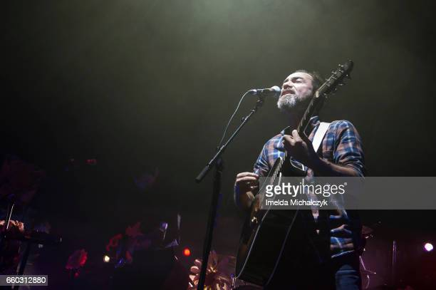 James Mercer of The Shins performs at Eventim Apollo In London on March 29 2017 in London United Kingdom