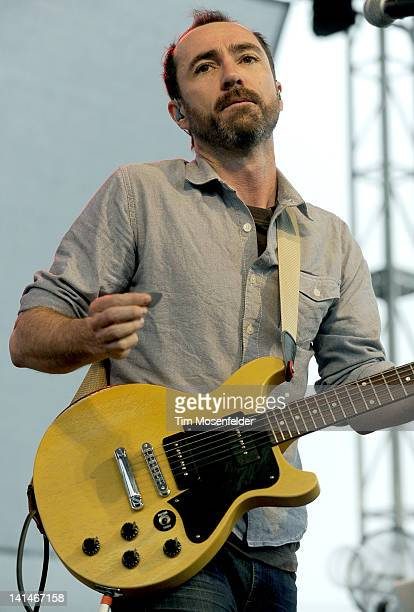 James Mercer of the Shins performs at Live from the Lot by Google Play YouTube at 2012 SXSW Music Film Interactive Festival Day 8 on March 16 2012 in...