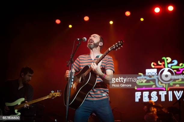 James Mercer of The Shins performs at the O2 Academy at the BBC Radio 6 Music Festival day two on March 25 2017 in Glasgow United Kingdom