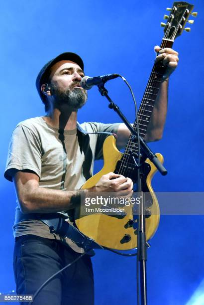 James Mercer of The Shins performs in support of the band's 'Heartworms' release at The Greek Theatre on September 30 2017 in Berkeley California